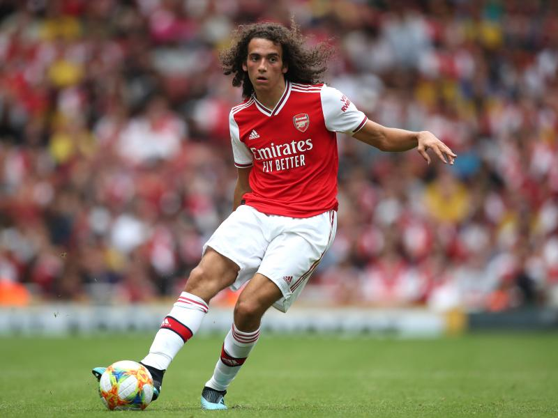 Guendouzi beaming with confidence ahead of Liverpool clash