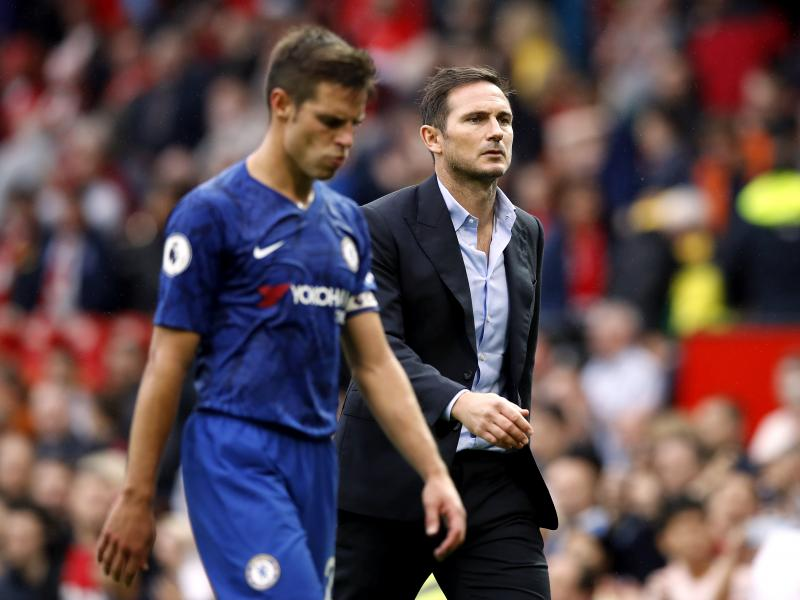 Lampard challenges Chelsea to bounce back against Liverpool