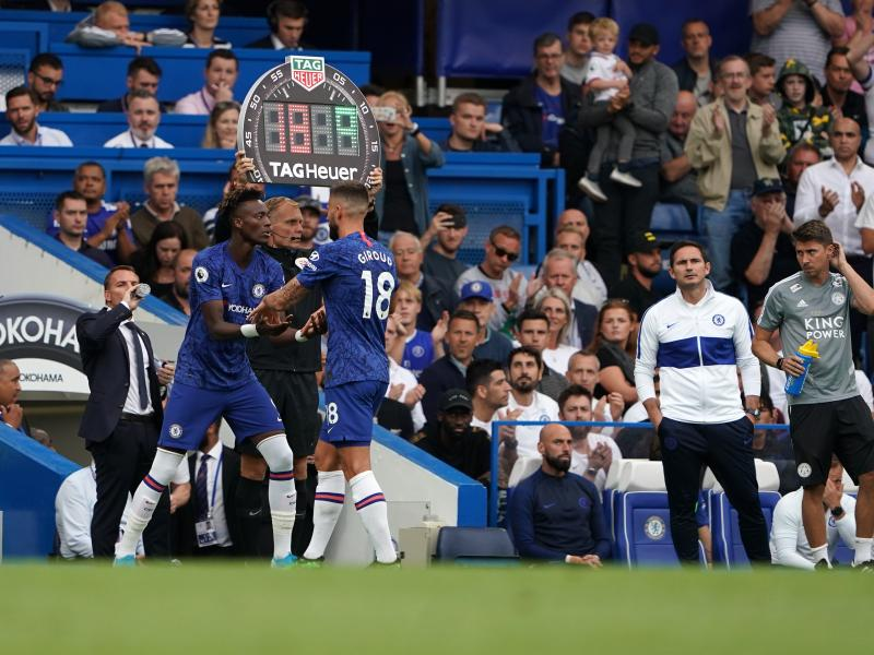 Frank Lampard reveals why he dropped Tammy Abraham and Ross Barkley against Leicester