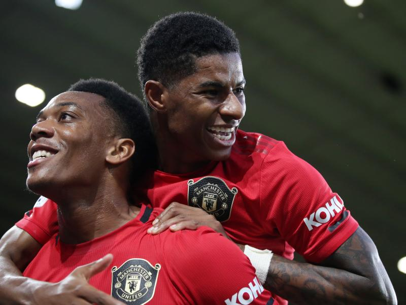 Martial reveals how 'perfect' Rashford partnership helps terrorise defences