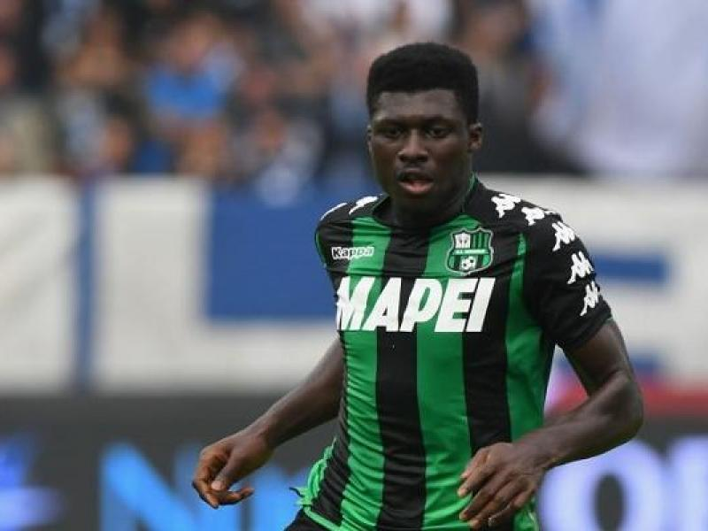 Inter Milan target Sassuolo midfielder Alfred Duncan ahead of January