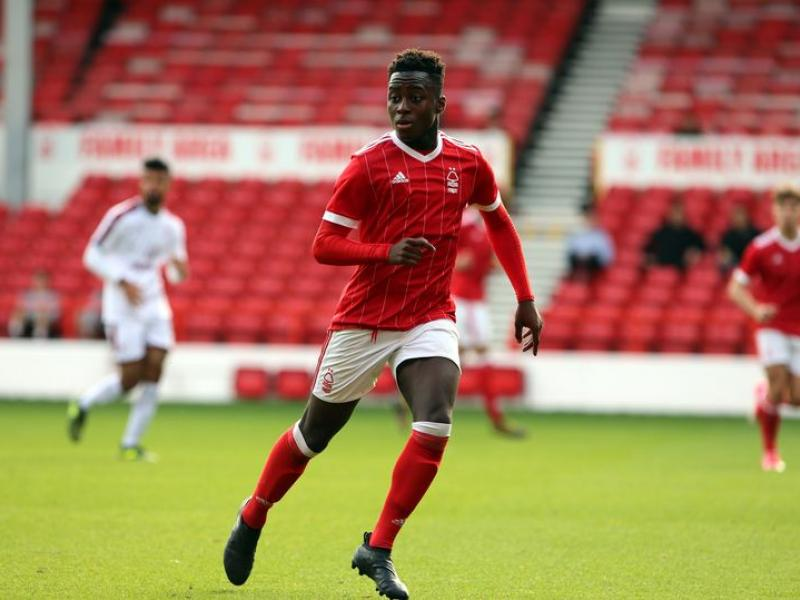 Ghanaian youngster awarded Nottingham Forest's Youth Player of the Season