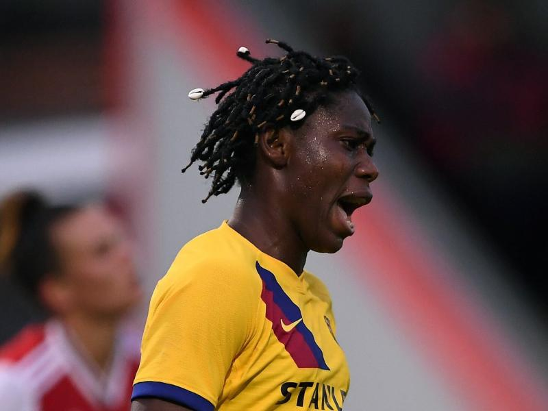 WATCH: Nigerian striker scores again for Barcelona