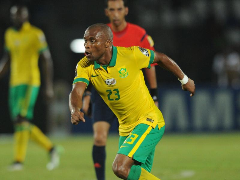 Images of Rantie & unknown player at Sundowns