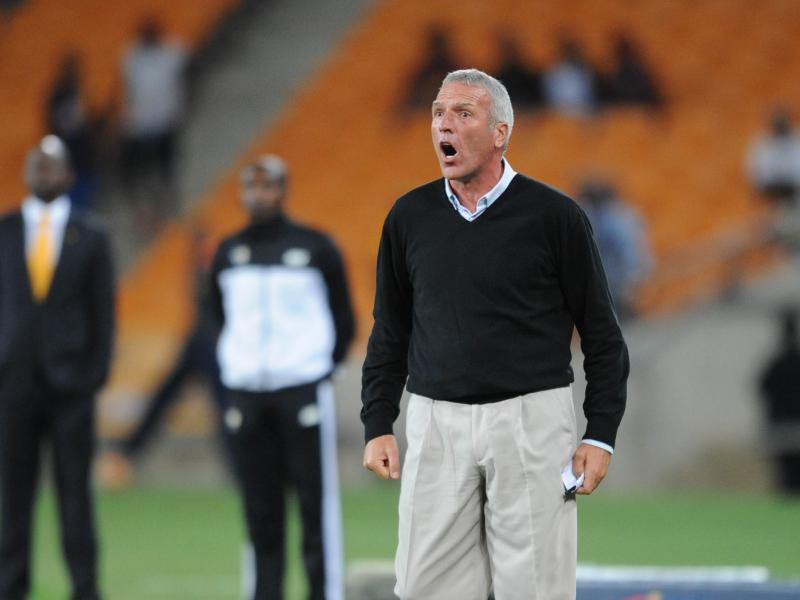 Chiefs coach Middendorp on avoiding 'too much' experience