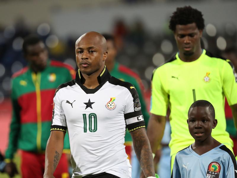Watch: Moments from Ghana's training session