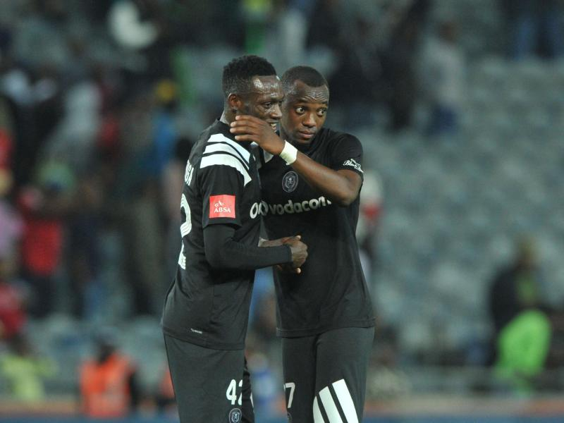 Augustine Mulenga scores in Pirates Carling Black Label victory