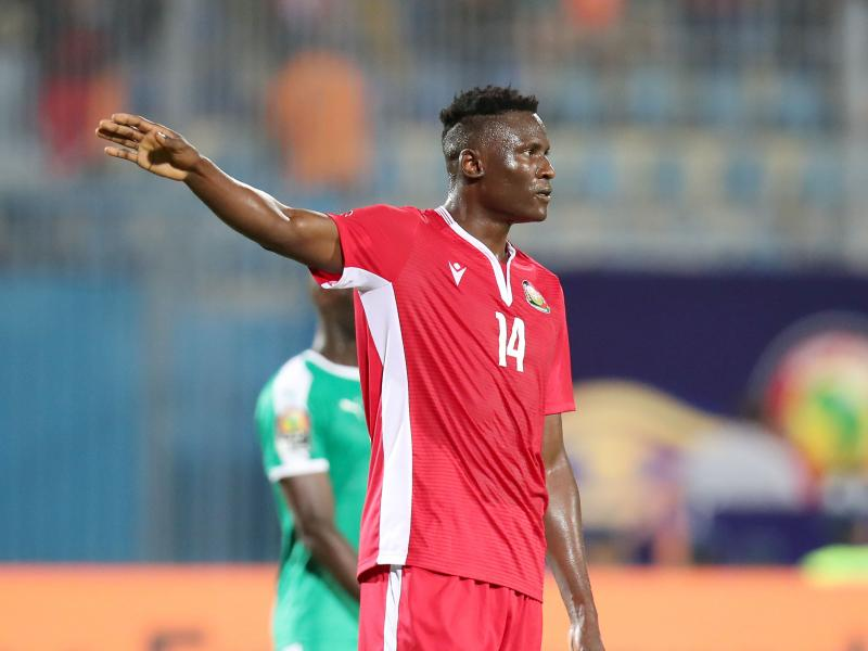 Michael Olunga reacts after losing SOYA 2019 Sports Man of the Year