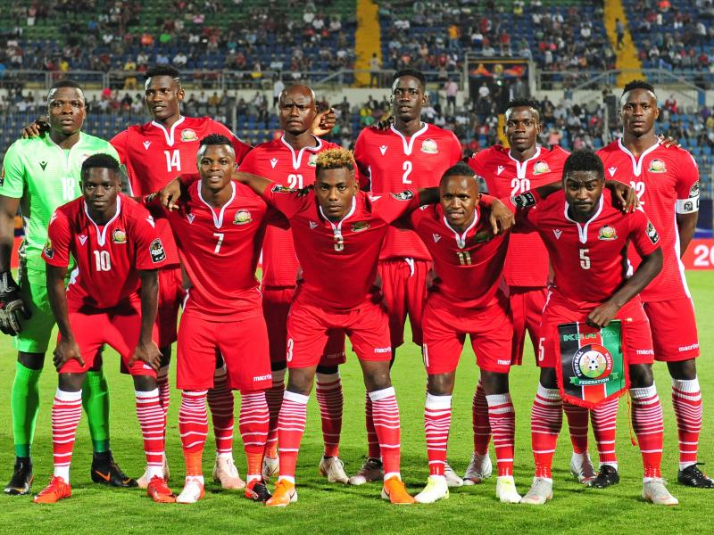 Harambee Stars probable starting line up against Mozambique