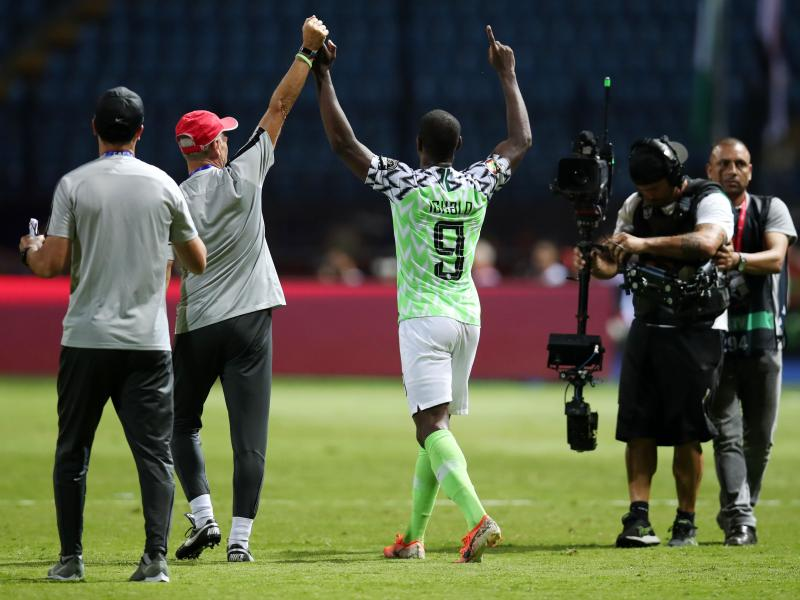 Ighalo hangs Super Eagles boot after AFCON 2019