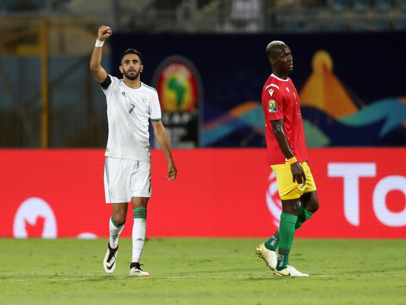 Clinical Algeria storm AFCON quarterfinals with convincing win over Guinea