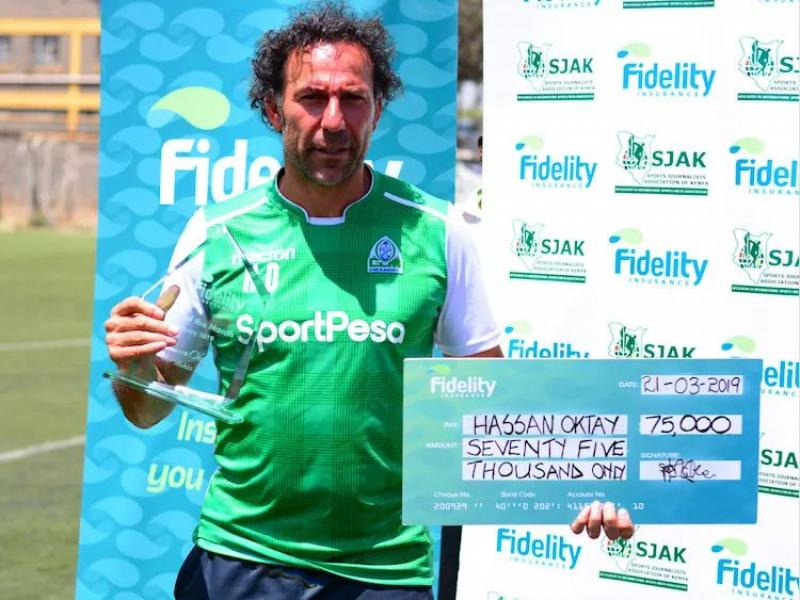 Hassan Oktay named Manager of The Month