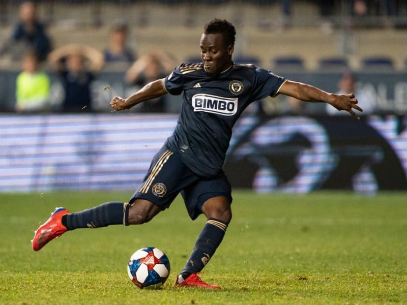 David Accam scores brace in Philadelphia Union's 3-0 victory
