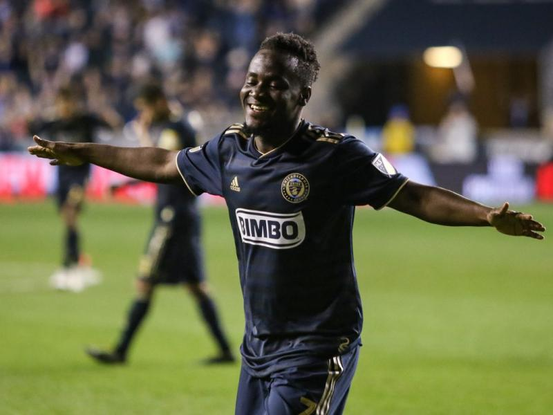 """The competition in the squad is motivating me,"" -David Accam"