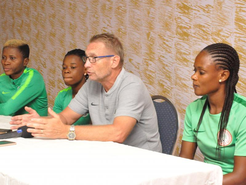 Six pros to join Super Falcons for Algeria clash
