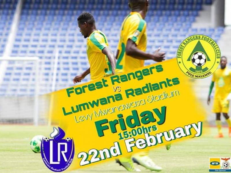 ZSL Preview : Struggling Lumwana face Forest Rangers in a battle of brothers