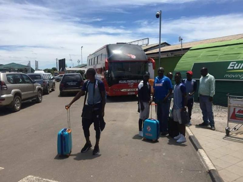 CAF CC: Nkana expected to land in Ghana today