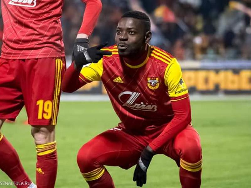 Kangwa opens goal account for the season