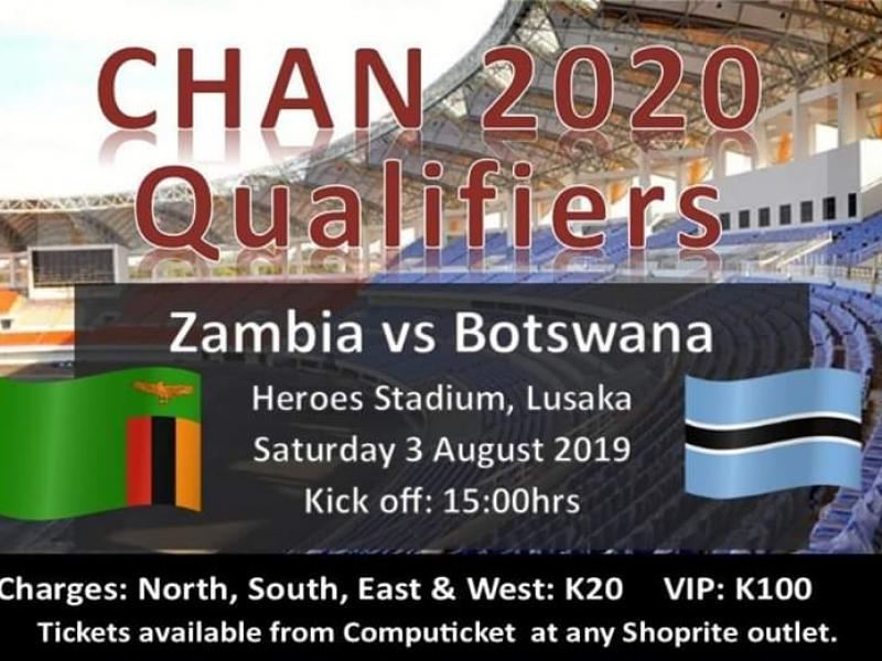 Tickets for CHAN second leg qualifier go on sale