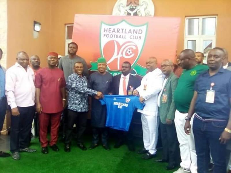NPFL: Ilechukwu opens up on  why he joined Heartland