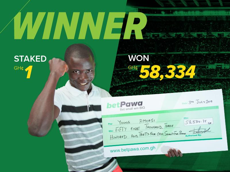 Timing key as Ghanaian wins GH¢58,334.75 from GH¢1 bet