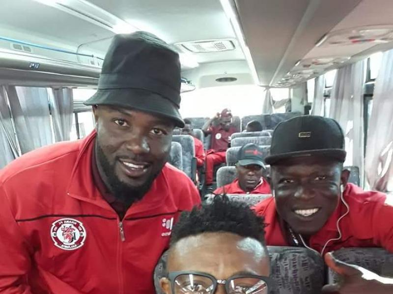 Nkana in Lusaka for a 10 day training camp