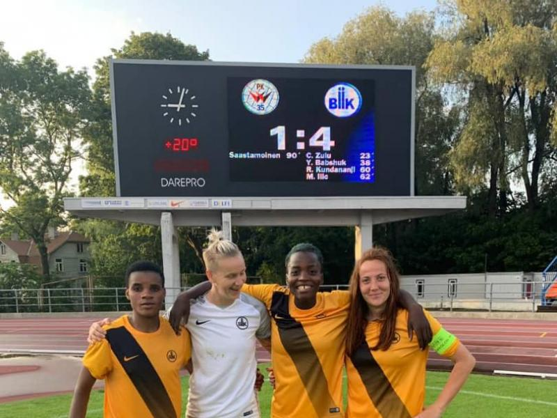 History : Copper Queens captain becomes first Zambian player to score in UEFA Women's Champions League