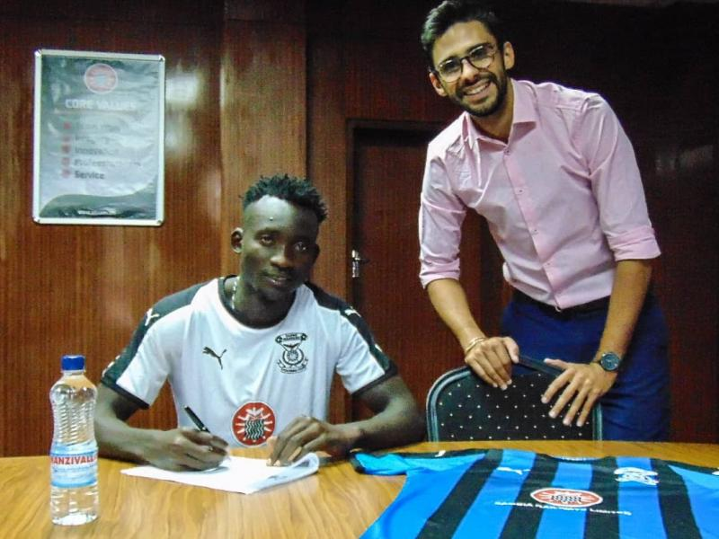 Kabwe Warriors announce their second signing