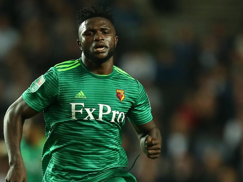 Nigeria international on top form for Watford