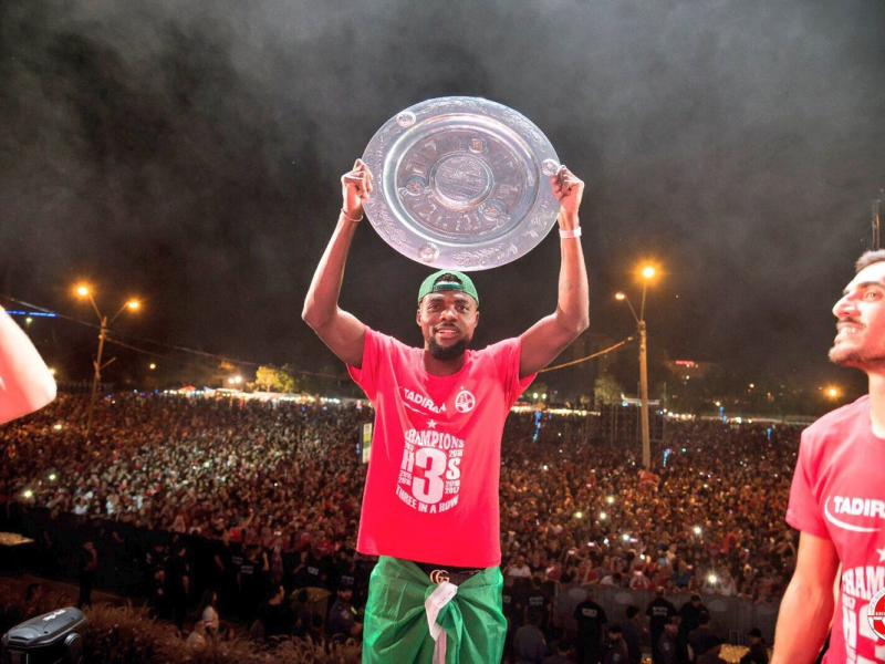 Super Eagles midfielder pens emotional farewell letter to Hapoel fans