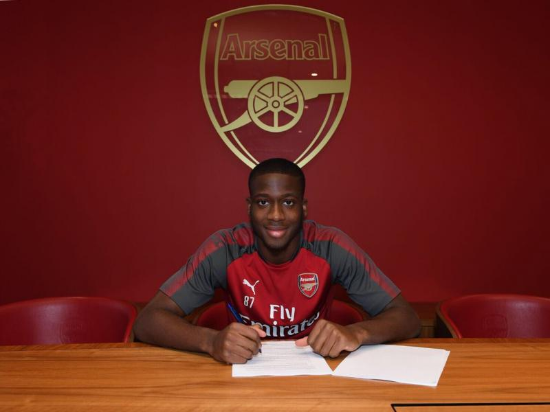Arsenal defender Olowu declares for Nigeria