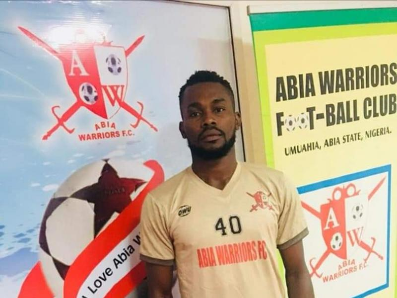 NPFL: Abia Warriors declare goalkeeper Enaholo missing
