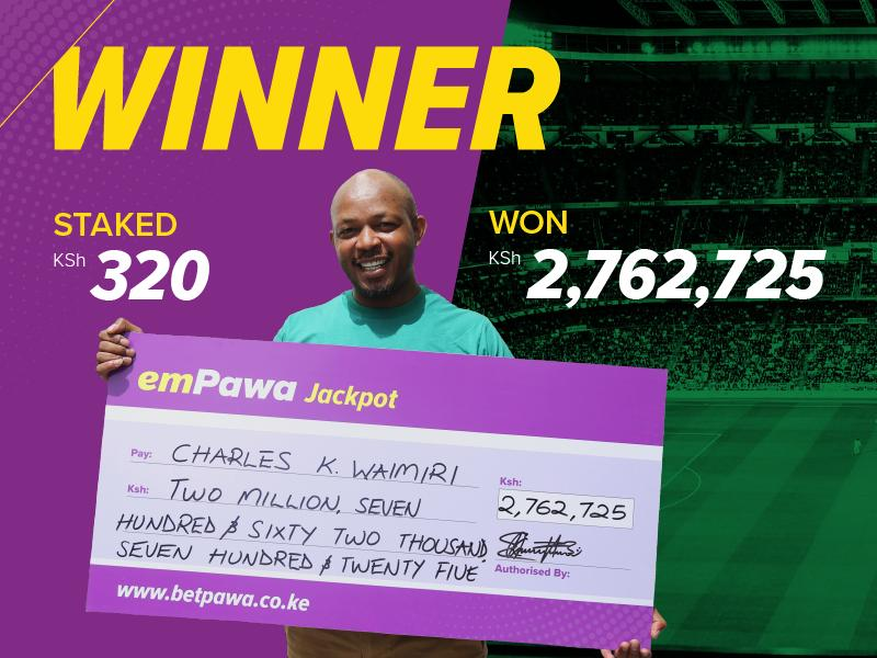 """I am aiming for that KSh. 20,000,000"" says Kenyan after KSh2,762,725.32 win"