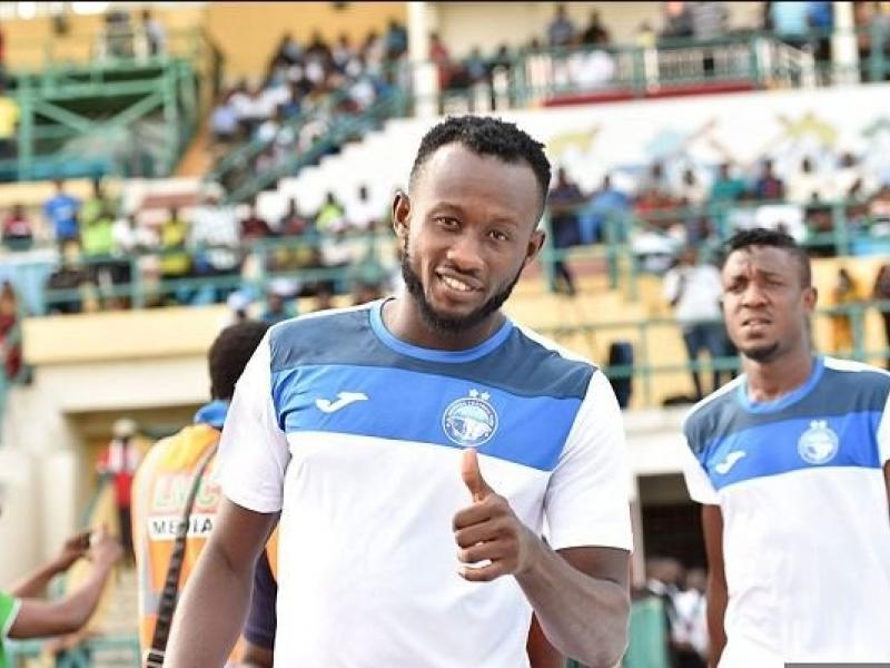 Akwa's Udoh says fans have big given 150% assurance