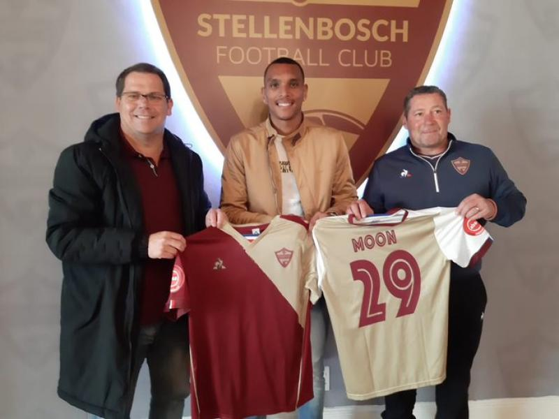 📝 Former Chiefs striker Moon joins Stellenbosch