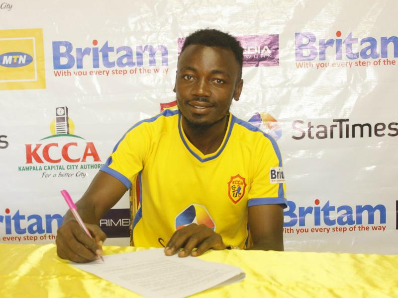 Wakiso Giants sign KCCA FC midfielder on a three-year deal