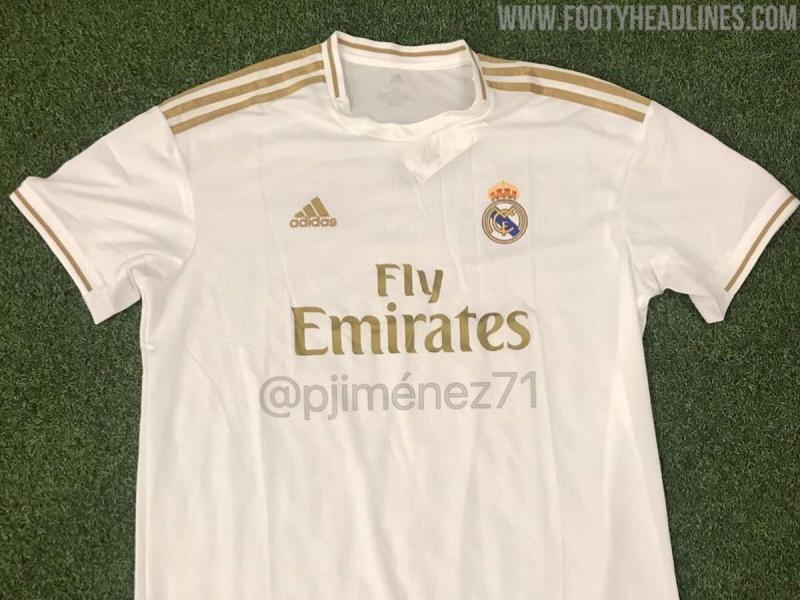 buy online 1f4fb 3e3b6 LEAKED: Real Madrid's home kit for 2019-20 season surfaces ...