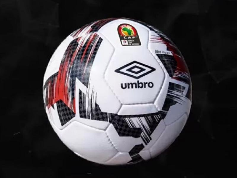 CAF delivers official Umbro match ball to teams participating in the AFCON