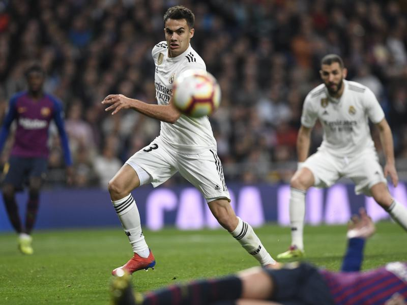 Rising stars of LaLiga: Real Madrid fullback Sergio Reguilon