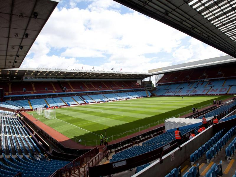 Lifelong Aston Villa fan signs deal with the club to be official beer sponsor