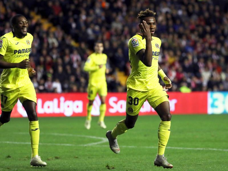 Samuel Chukwueze ranked 25th best in top 50 U20 players in the world