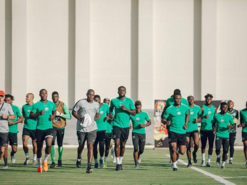 Super Eagles train in Dnipro ahead of clash with Ukraine
