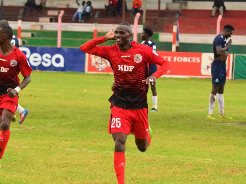 Ulinzi Stars striker speaks after first Harambee Stars call up