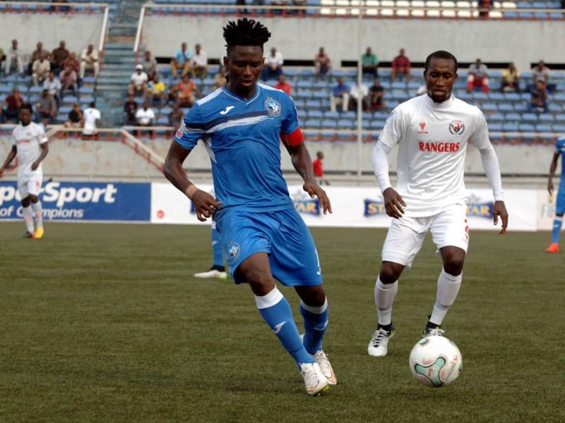 Enyimba vs Rangers starting line ups