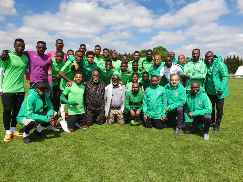 All Africa Games: Aigbogun says Flying Eagles have no reason to fail