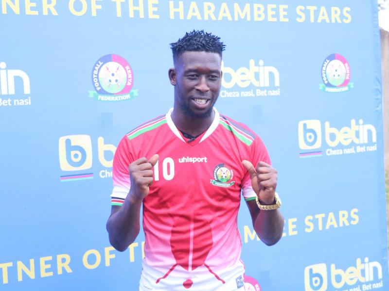 Shikhalo starts as Harambee Stars team to face Mozambique is named