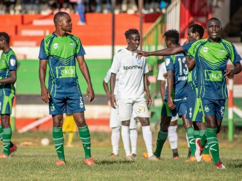 KCB 2-1 Wazito: Bankers punish 10-man Wazito to move to fifth on the KPL table