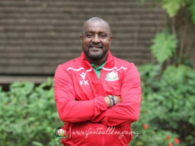 Webo in as FKF unveils new look Harambee Stars bench