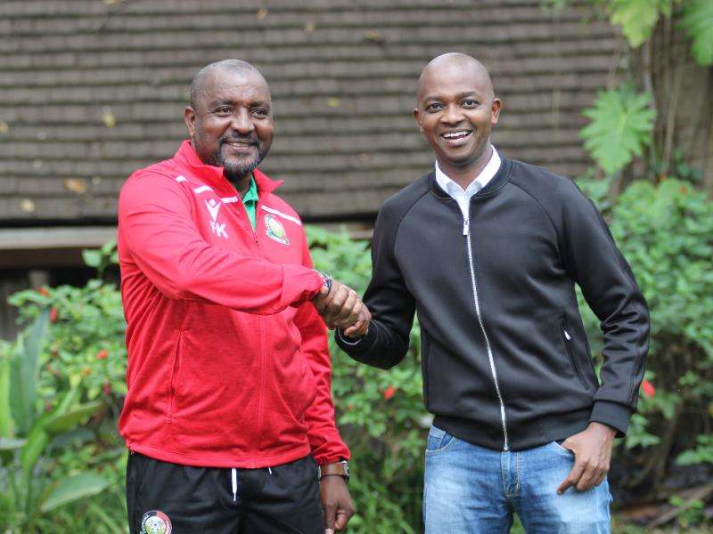 Francis Kimanzi outlines his target after appointment as new Harambee Stars coach