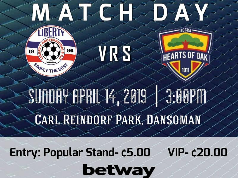Liberty vs Hearts of Oak starting XIs